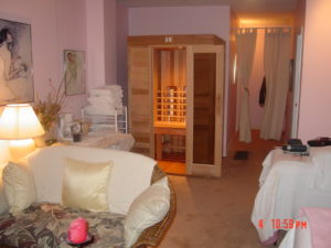 4x4 IR portable sauna