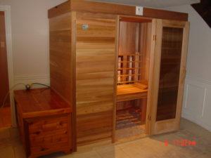 4x6 portable sauna