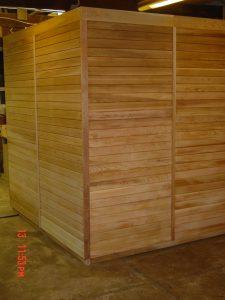 6x7x7 Portable conventional sauna