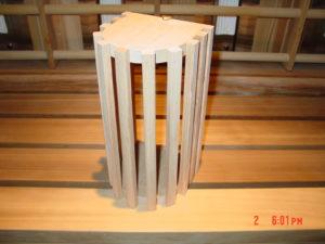 Sauna ellips light cover