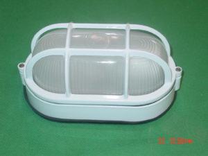 Ellipse sauna light fixture