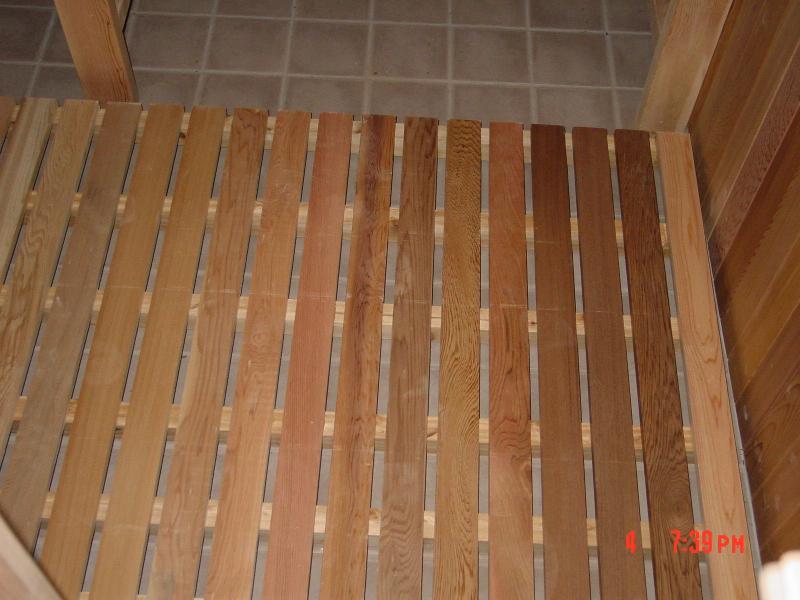 Sauna Floor Mat Dreamsauna Dreamsauna