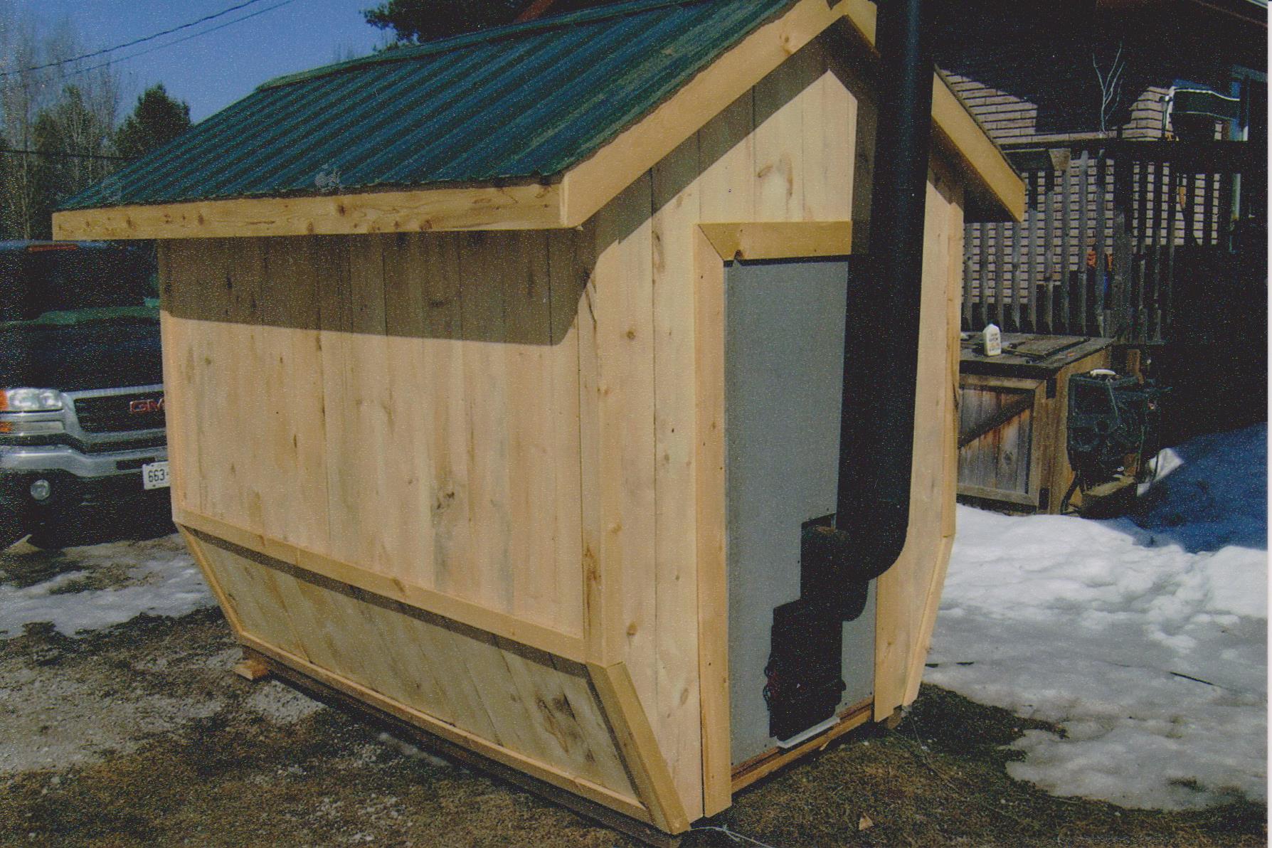 Outdoor sauna bing images for Sauna plans outdoor
